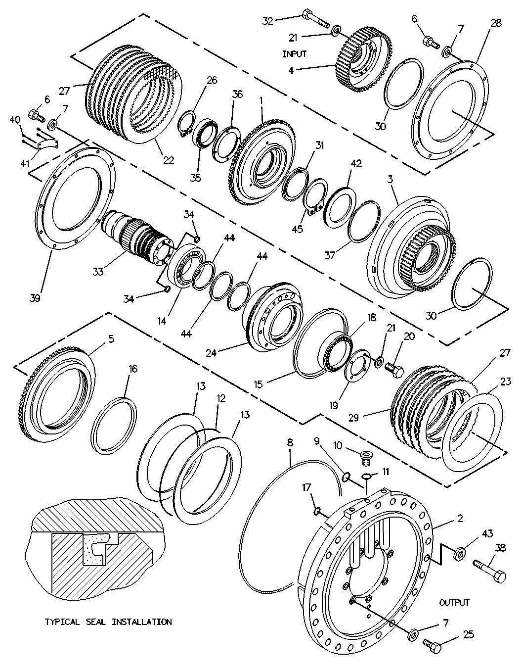 bulldozer parts diagram