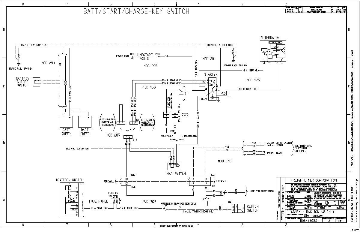 schematic wiring diagram sterling truck wiring diagram and hernes sterling truck wiring schematic nilza