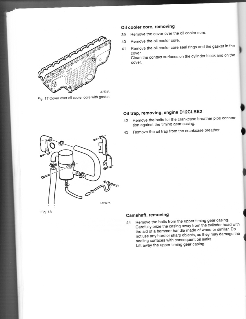 I Need A Full Manual For Volvo D12 Non Egr Inframe
