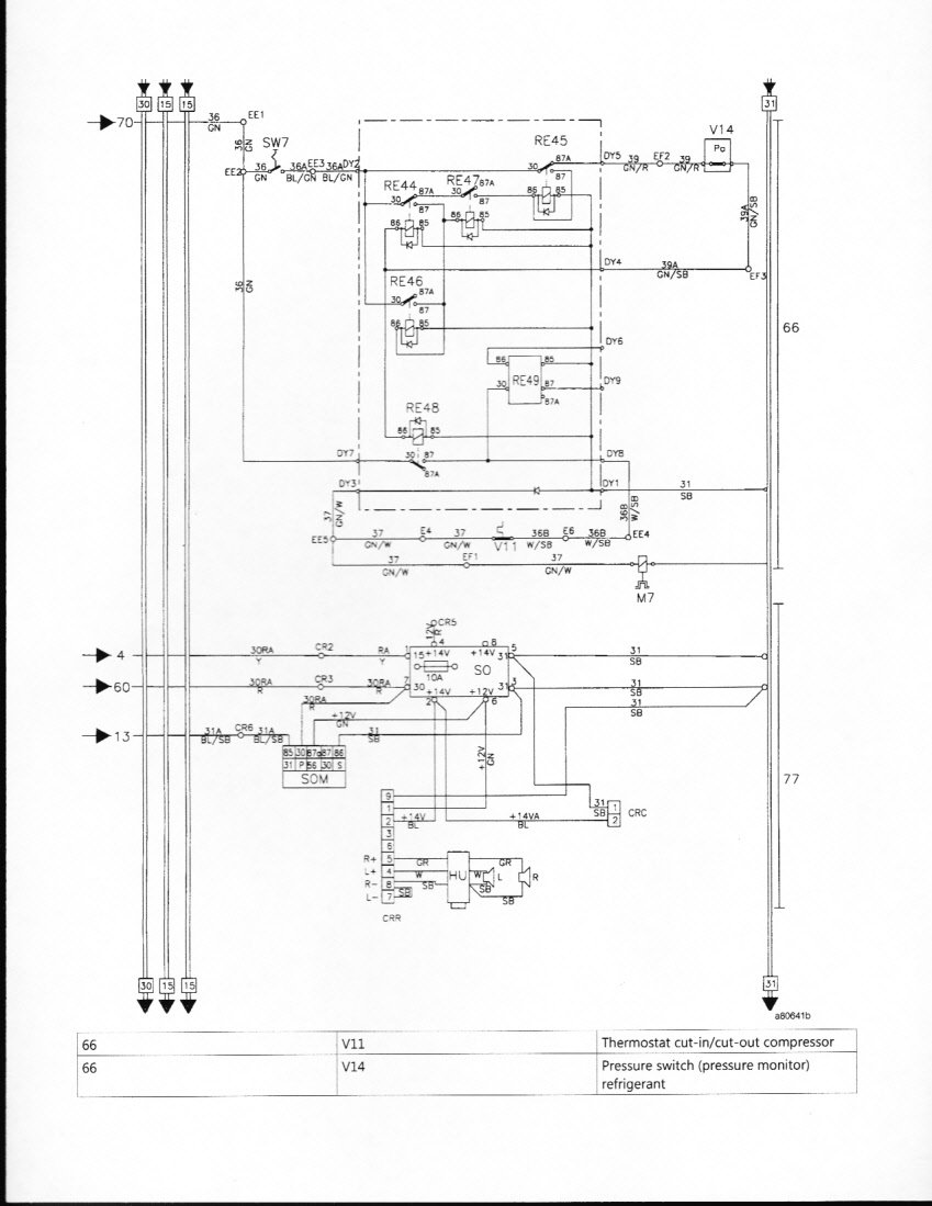 Looking For A Wiring Diagram For A 1998 Volvo A25c Rock Truck