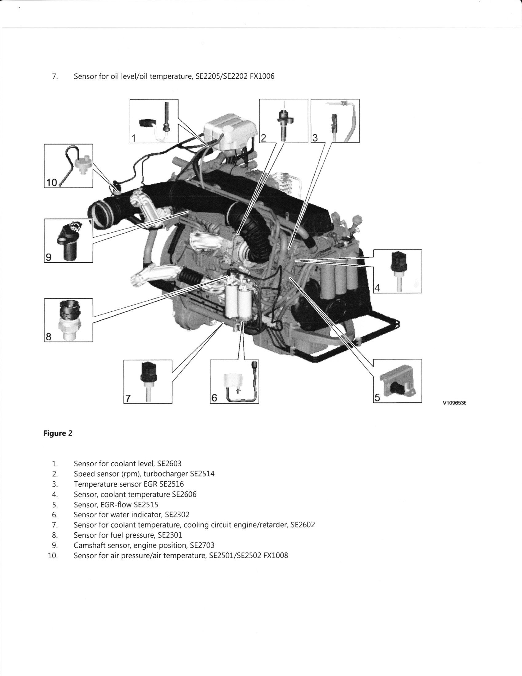 volvo d12 engine oil pressure sensor location  volvo  free