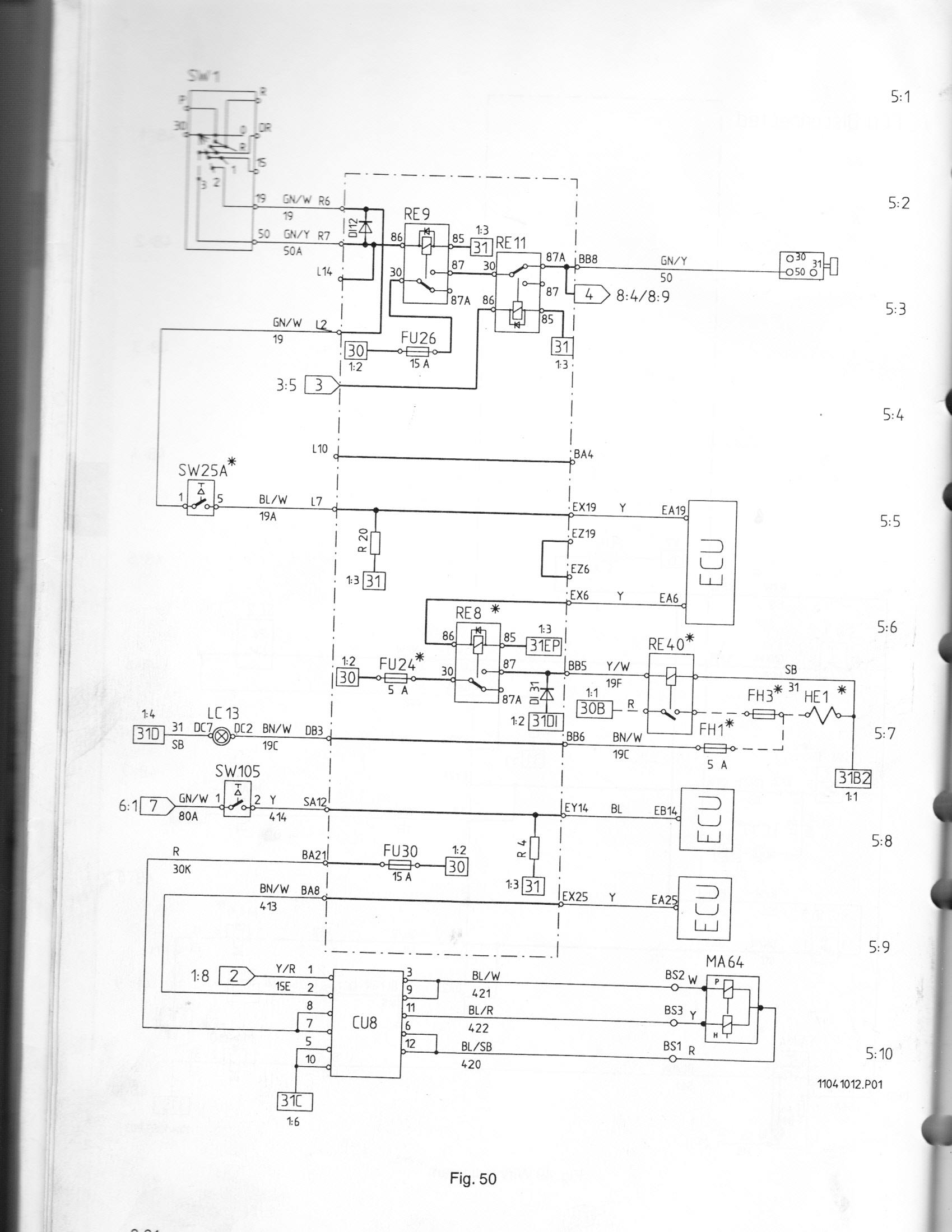 Volvo L70 Wiring Diagram : I ve got a volvo l c loader with problem the