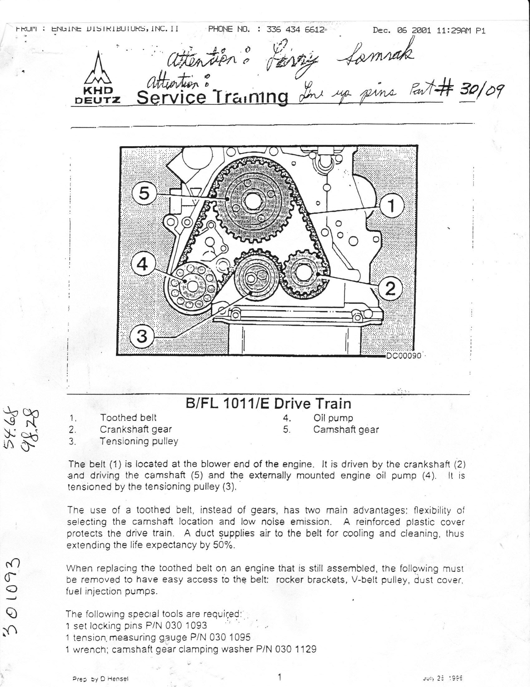 Deutz 1011 Engine Manual Deutz Free Engine Image For