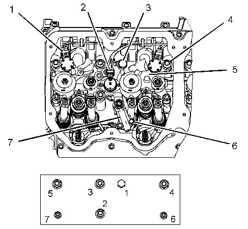 C15 Cat Torque Specs on intake valve actuator