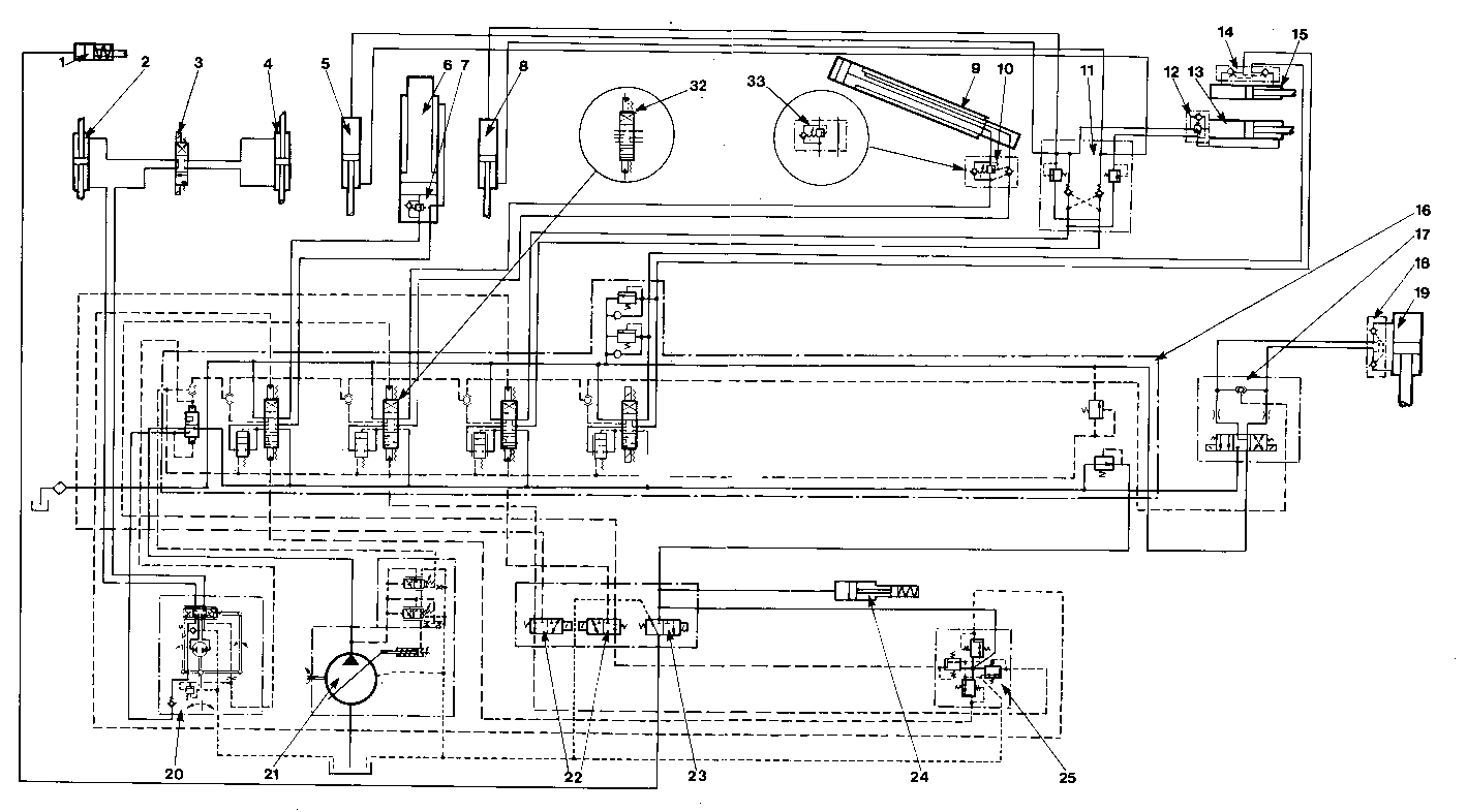 caterpillar hydraulic schematics