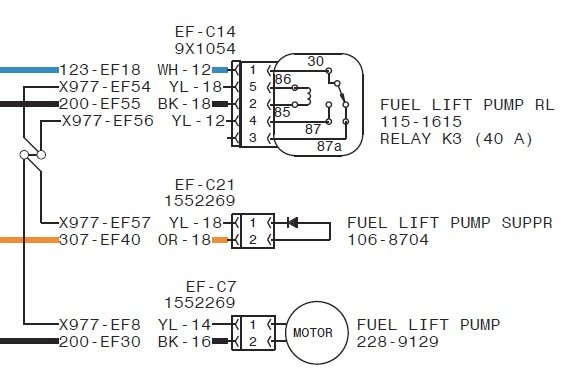 F P Diode on I Need To Know Which Fuse Goes The