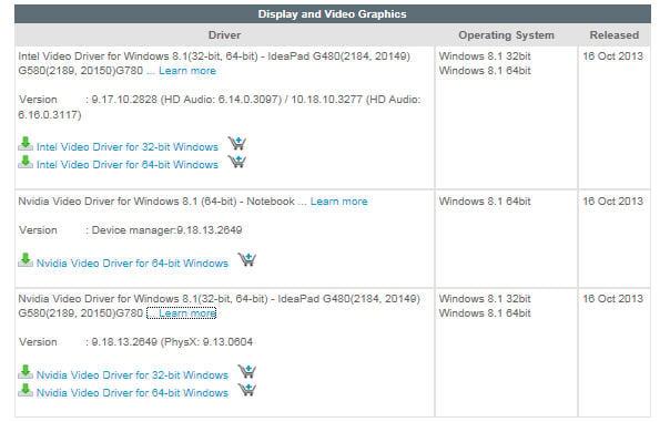 Драйвера lenovo g580 20157 windows 7