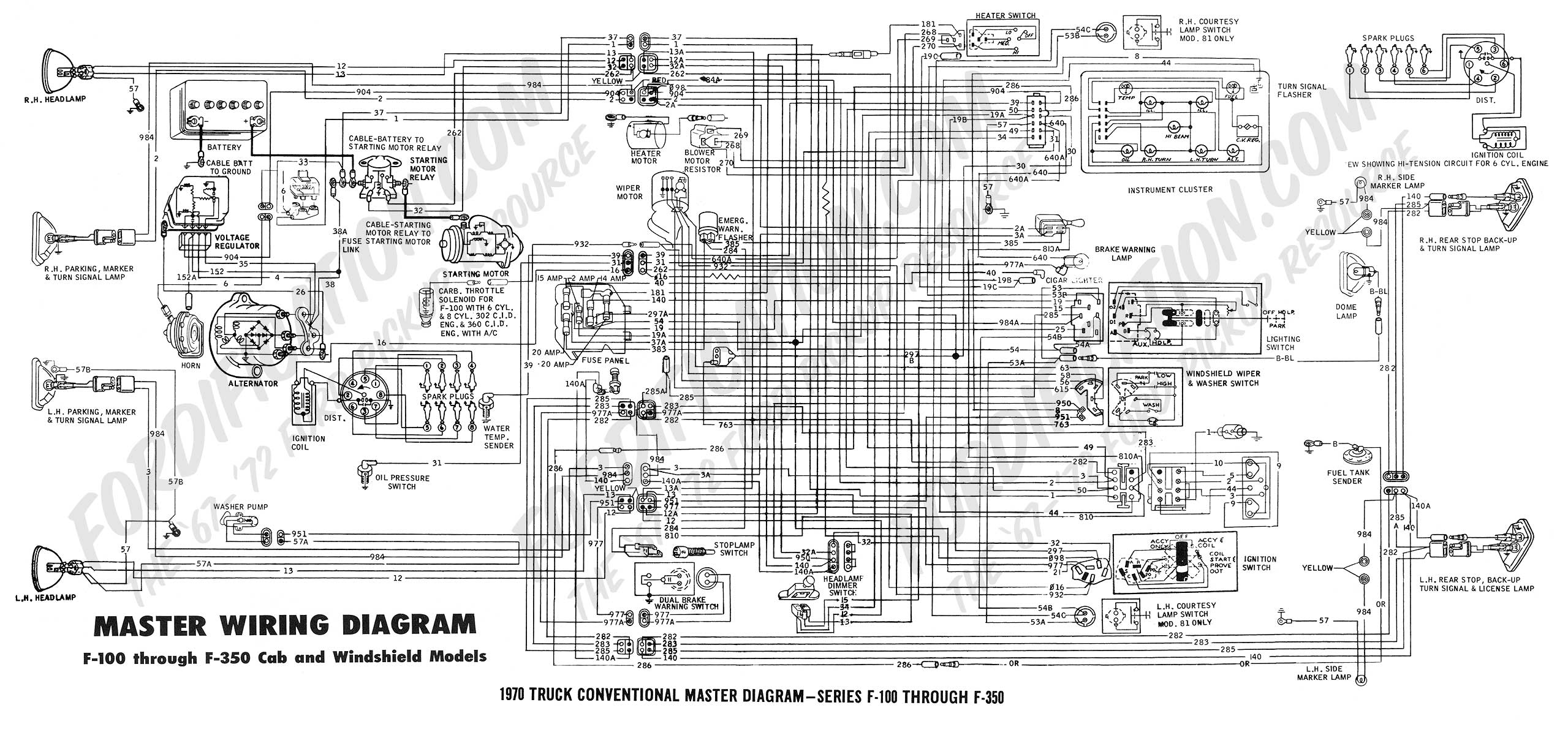 2ryja 1970 Ford Charging Voltage Regulator It Won T Start on 1958 thunderbird wiring diagram