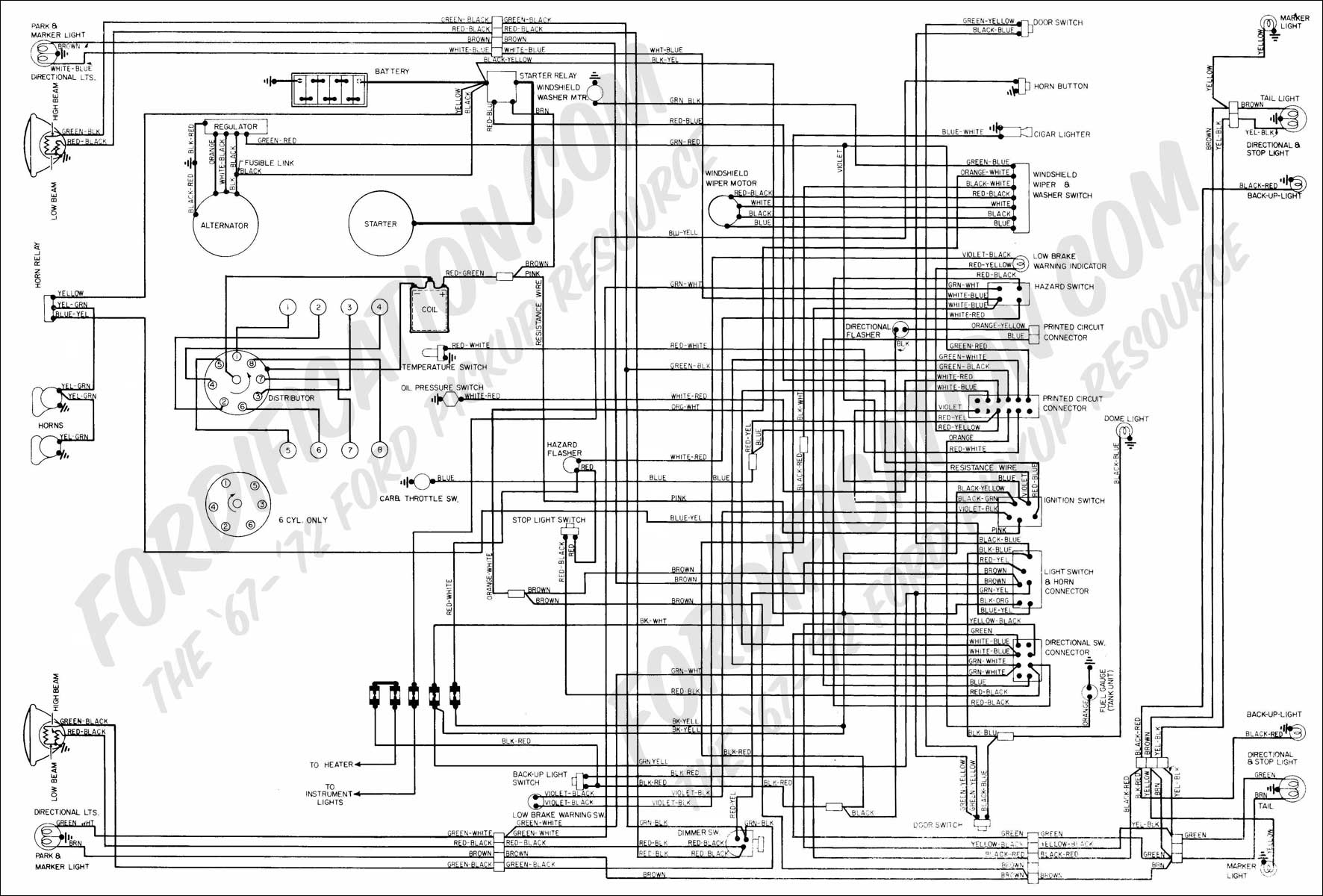 36gj1 Re Building 1972 Ford F100 390 Hands Tore Down on 1994 Buick Century Fuse Box Diagram