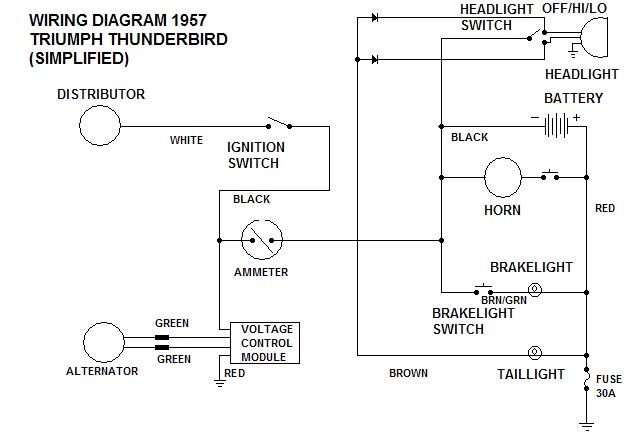 1973 thunderbird turn signals rear lights flash indicators