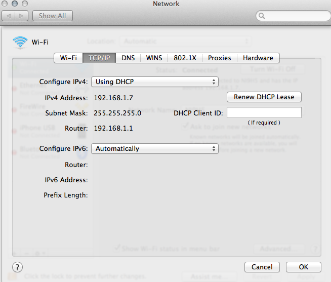 Set IP Address from the Mac Command Line  OS X Daily