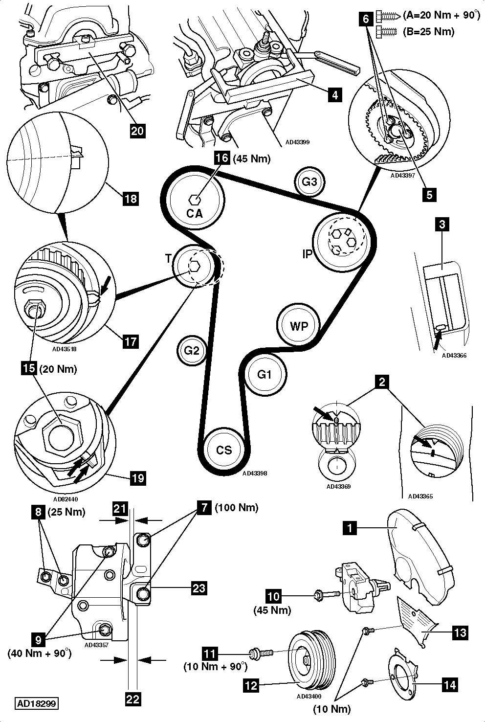 vw tdi timing belt diagram  vw  free engine image for user