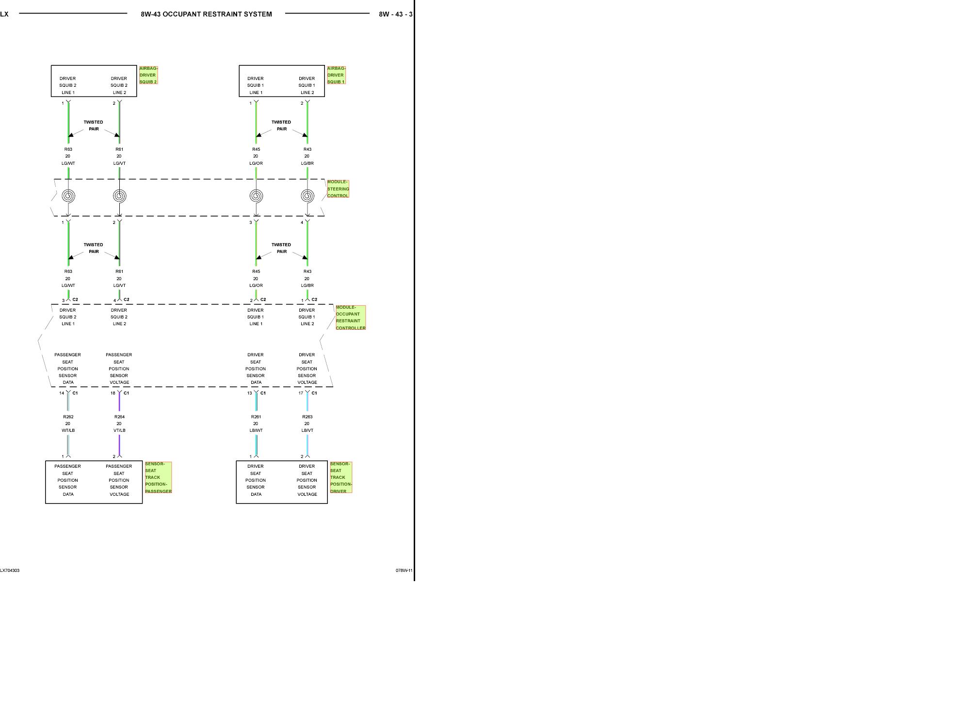 Airbag Wiring Color Expert Schematics Diagram 2009 Fusion Example Electrical U2022 4 Bag Air Suspension