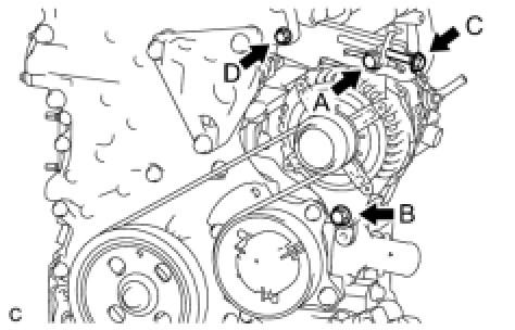 Замена ремня генератора на ниссан х-трейл т31 своими руками 59