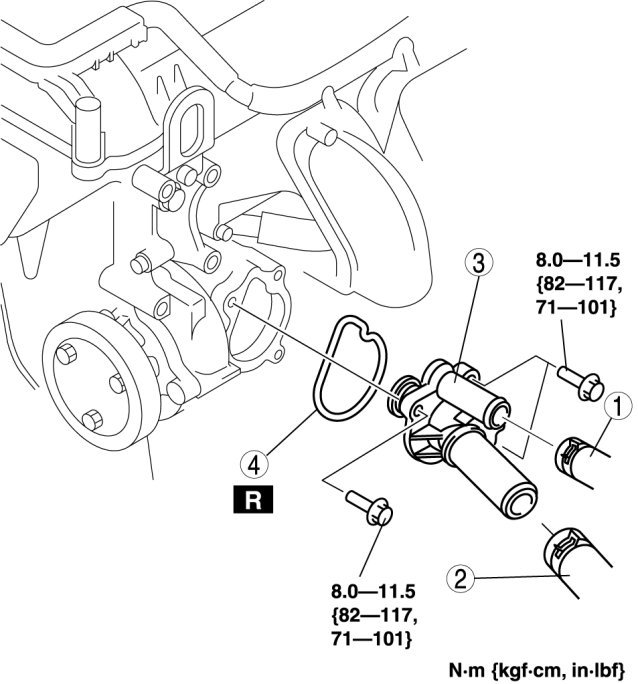 chevy uplander oxygen sensor location