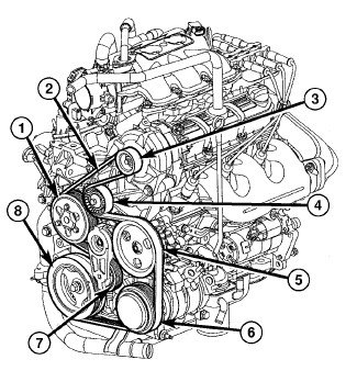 10 chrysler town country touring 3 8l serp belt diagram