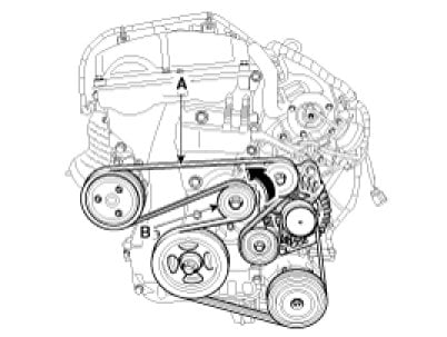 Oil Pump Well together with 08 Buick Lucerne Fuel Wiring Diagram additionally Knock Sensor Location 2013 Kia Soul likewise 2007 Kia Sportage 2 0 Belt Diagram likewise Kia Sephia Parts. on kia forte wiring diagram