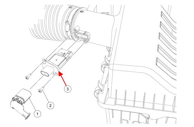 where is the mafiat sensor on a 2013 f150 5 0l  and
