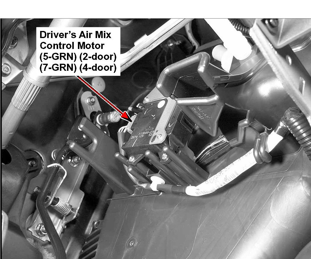 air mix motor honda accord 2003