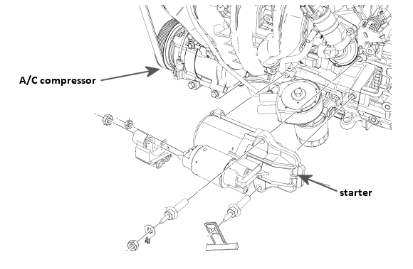 ford taurus heater hose diagram