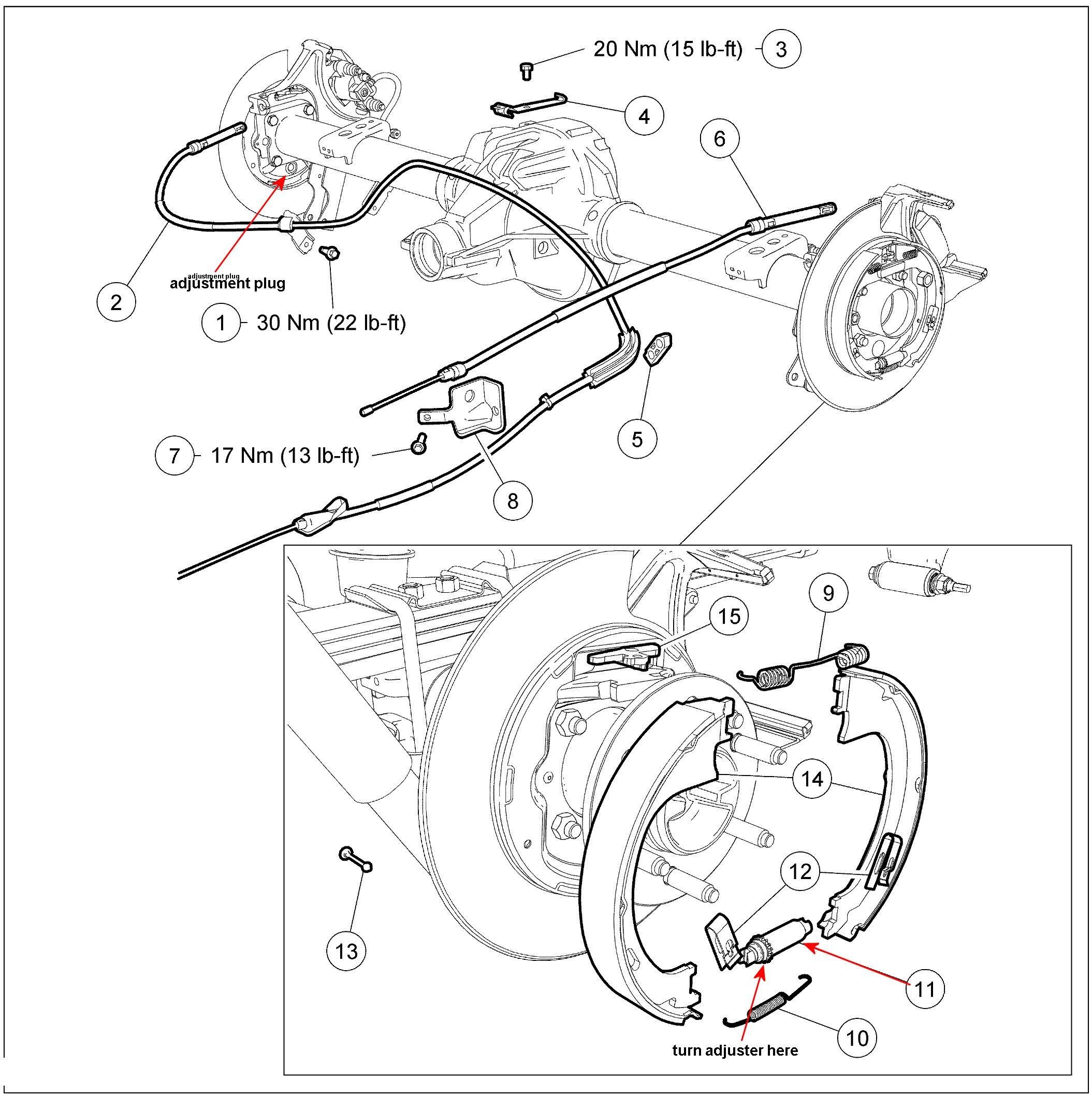 31 Ford F150 Rear Brakes Diagram