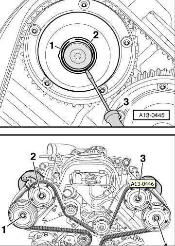 2004 audi 3 0    i replaced the timing belt with out the cam locks but before i took the old