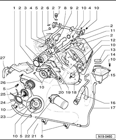 similiar 2001 jetta parts diagram keywords 2001 jetta vr6 engine cooling hoses 2001 engine image for user