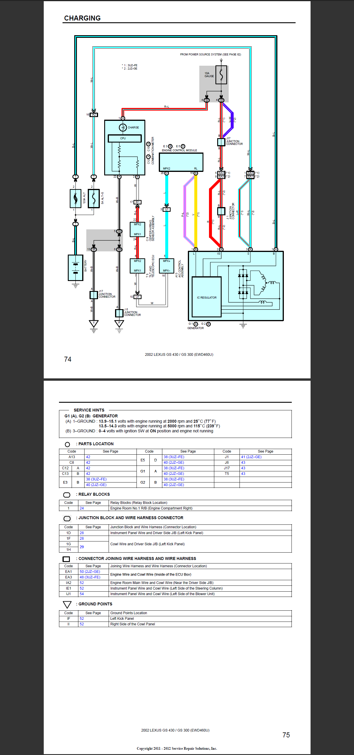 gs300 radio wiring diagram gs300 alternator wiring diagram