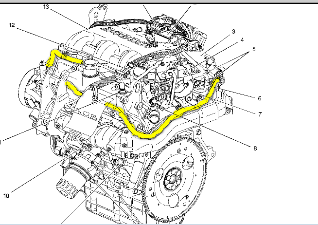 1989 chevrolet silverado 350 engine diagram