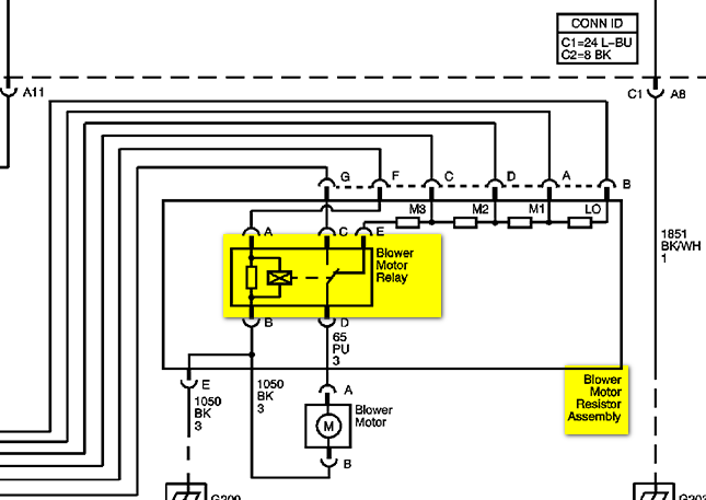 blower motor resistor wiring diagram 2006 chevy silverado blower motor resistor wiring diagram where is the blower motor relay on an 06 chevy silverado #2
