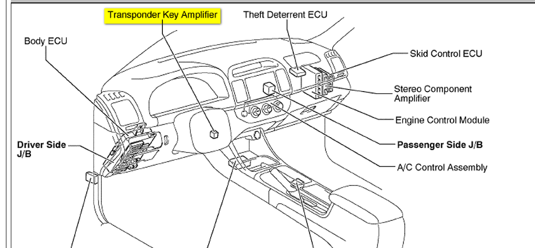 radio toyota matrix parts diagram html