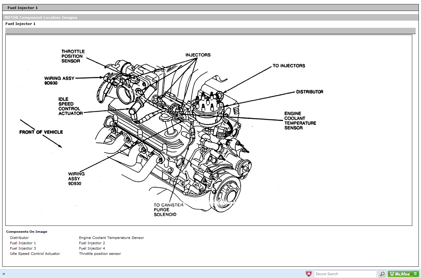 i need pictures or diagrams of a 85-86 mustang gt engine ... 7 0 ford engine parts diagram