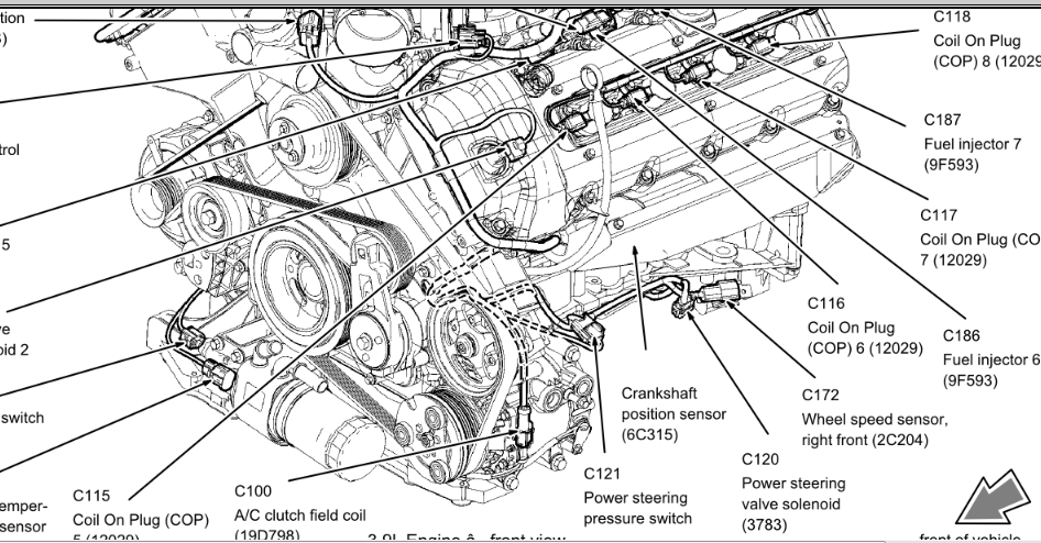2005 lincoln town car belt diagram  2005  free engine