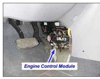 kia spectra kia spectra base w automatic transmission you will see the large wiring harness coming out of the firewall just about dead center of the firewall check there as well for damaged wiring