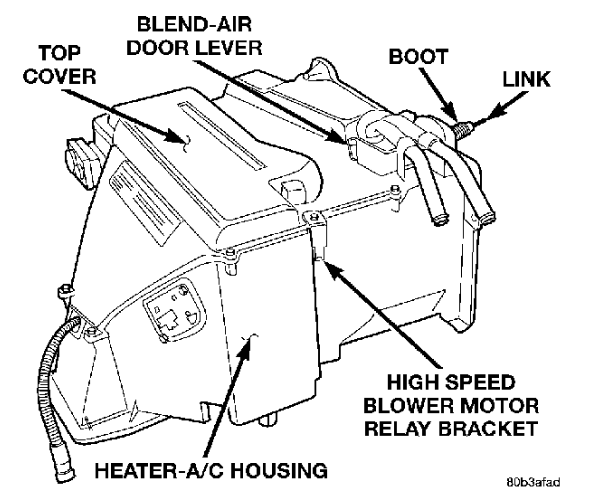 instruction for a 1997 dodge ram 3500 heater core