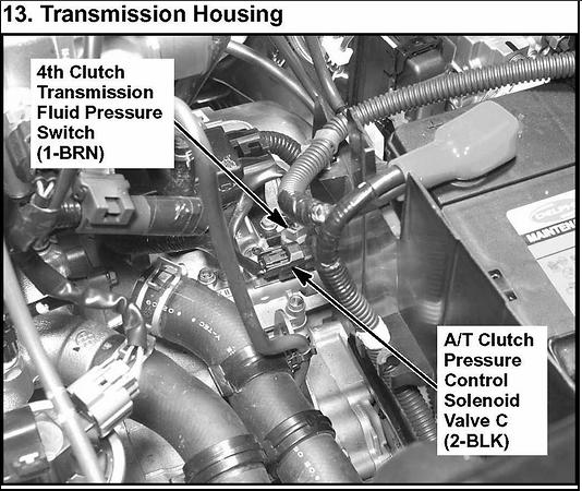 2003 Acura Mdx Trouble Code Is Po 873 4th Pressure Sensor