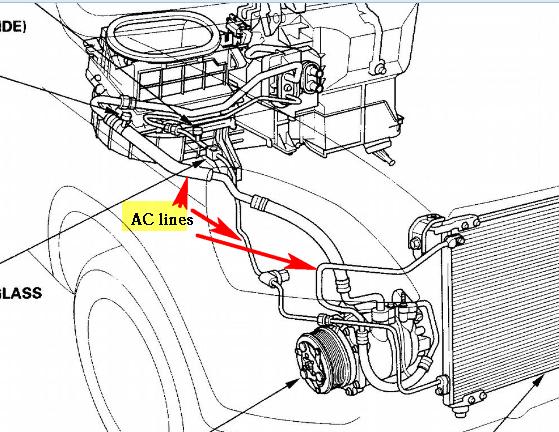 2003 honda odyssey a c diagram  2003  free engine image