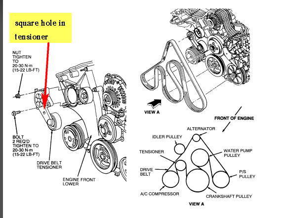 How To Remove A 2008 Lincoln Mkz Alternator Diagram