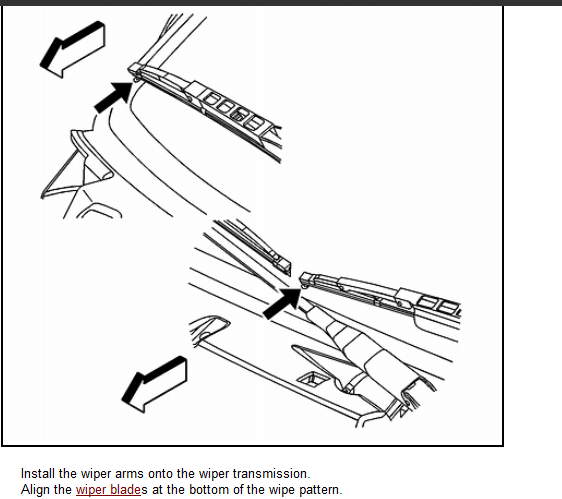 service manual  how to remove 2003 saturn ion wiper arm