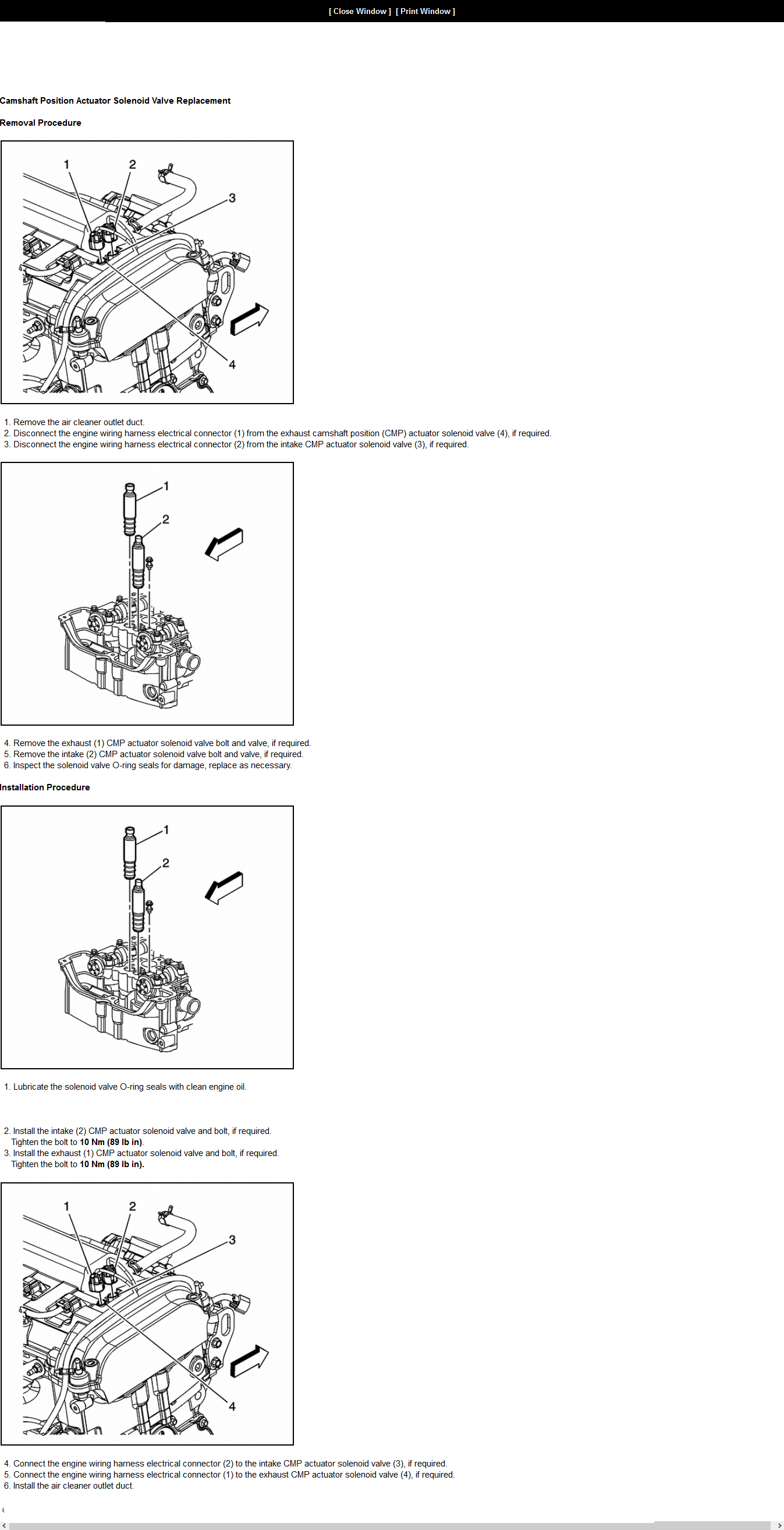 2009 malibu exhaust timing solenoid location with. Black Bedroom Furniture Sets. Home Design Ideas