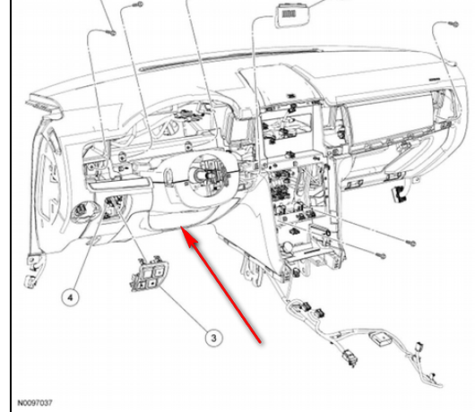 service manual  how to remove dash on a 2009 lincoln mks