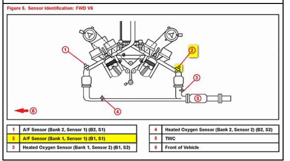 on Lexus Rx300 Oxygen Sensor