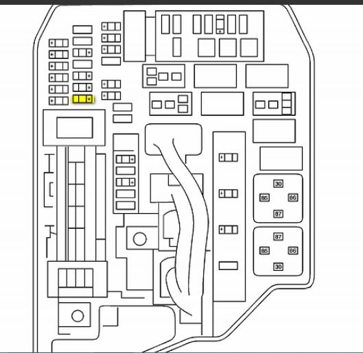 pontiac vibe fuse panel 2015  pontiac  auto fuse box diagram