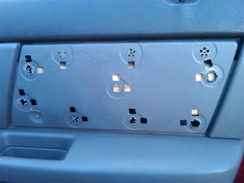 taurus car club of america ford taurus forum door panel repair. Black Bedroom Furniture Sets. Home Design Ideas