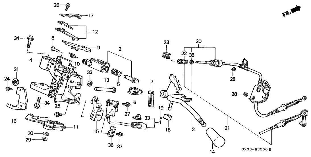 service manual  2009 honda odyssey shift cable repair
