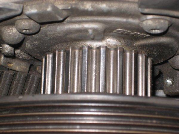Bottum Mark Close View Web on 2006 Volvo S60 Timing Belt