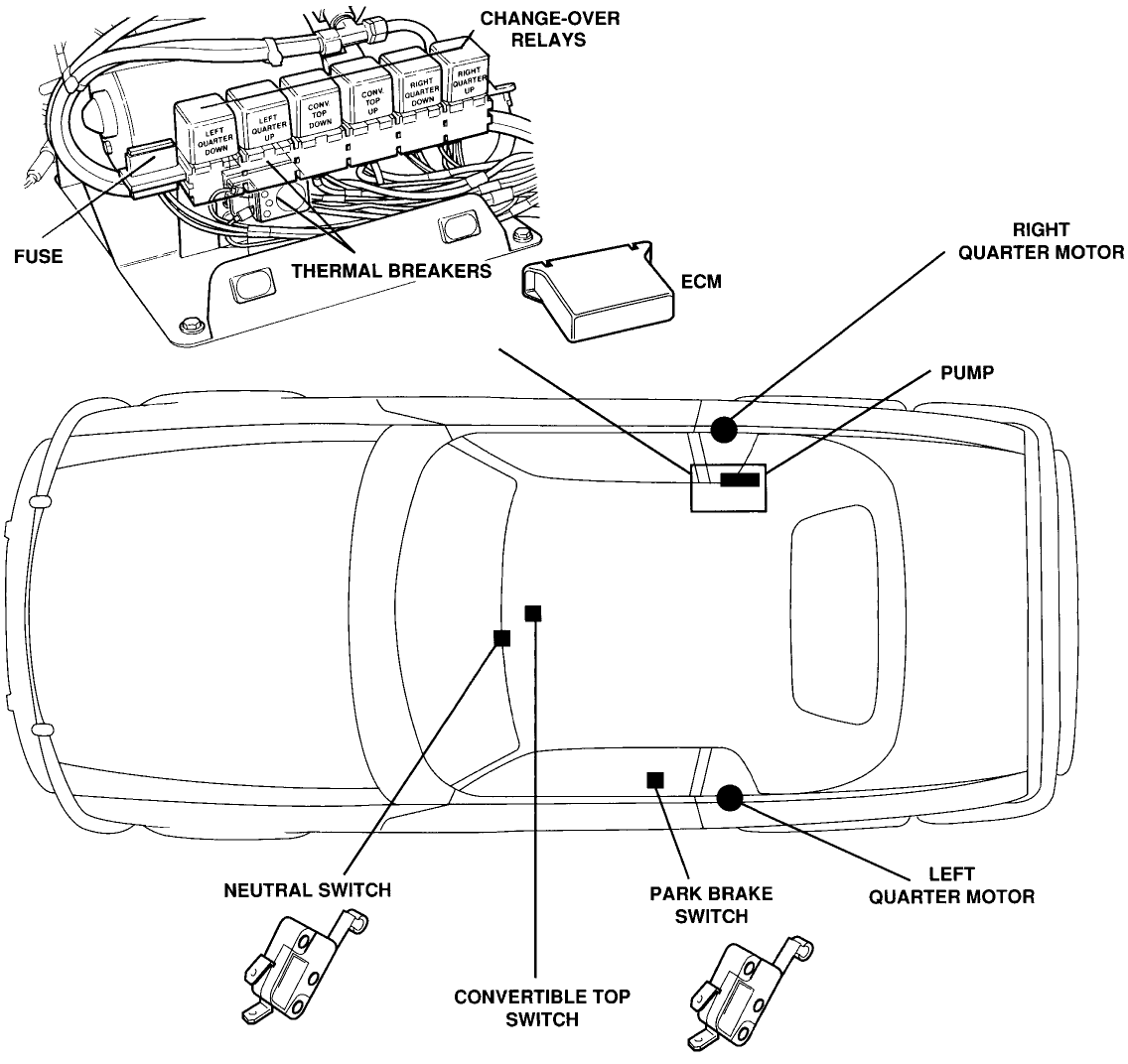 2007 chrysler sebring fuel pump relay location