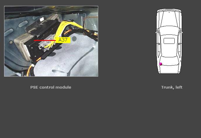 2002 Mercedes Cl500 The Door Locks And Trunk Actuator Don