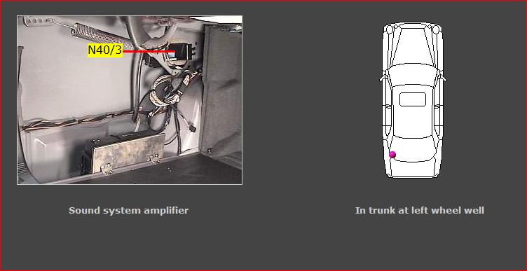 E Mercedes Antenna Amplifier Location