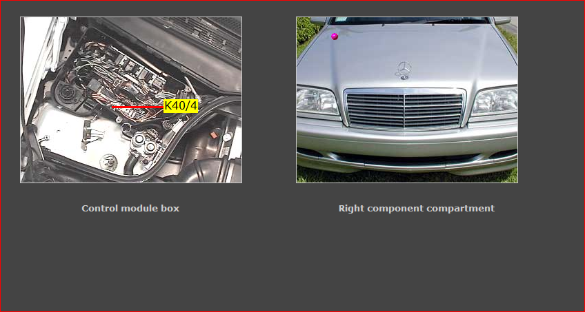 On A 1999 Mercedes C280 Trying To Get Her Inspected The